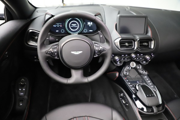 New 2021 Aston Martin Vantage Roadster Convertible for sale $189,186 at Pagani of Greenwich in Greenwich CT 06830 17