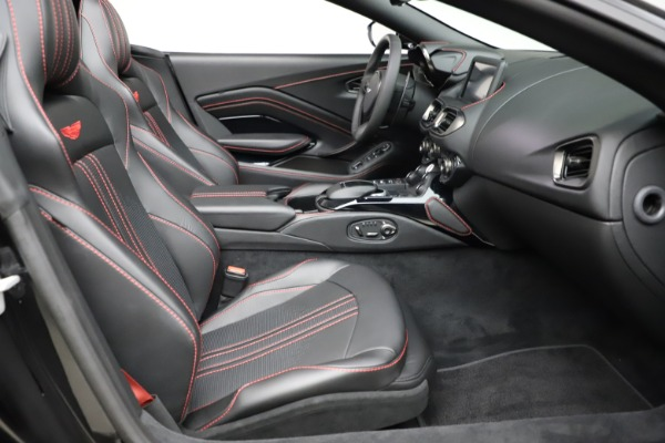 New 2021 Aston Martin Vantage Roadster for sale $189,186 at Pagani of Greenwich in Greenwich CT 06830 19