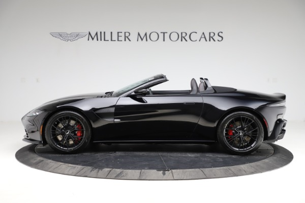 New 2021 Aston Martin Vantage Roadster for sale $189,186 at Pagani of Greenwich in Greenwich CT 06830 2