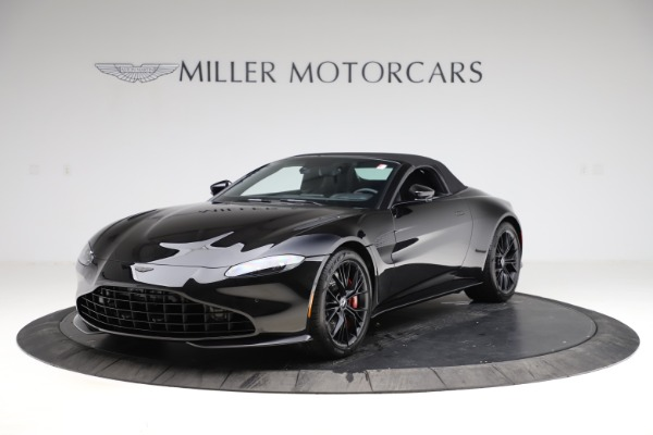 New 2021 Aston Martin Vantage Roadster Convertible for sale $189,186 at Pagani of Greenwich in Greenwich CT 06830 27