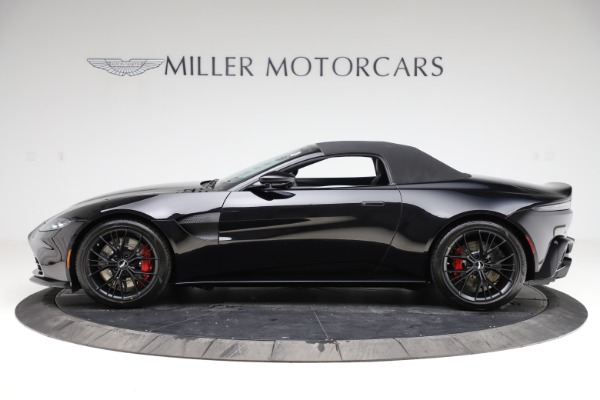 New 2021 Aston Martin Vantage Roadster Convertible for sale $189,186 at Pagani of Greenwich in Greenwich CT 06830 28