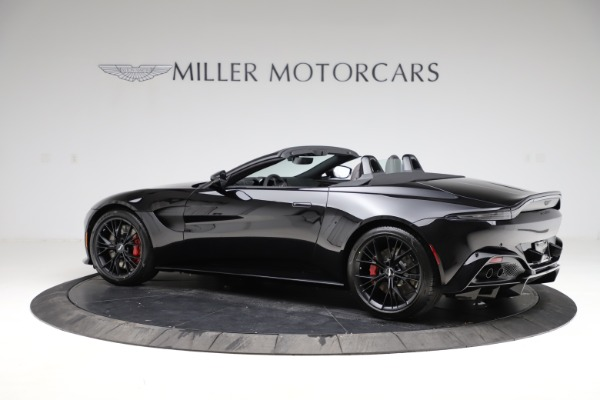 New 2021 Aston Martin Vantage Roadster for sale $189,186 at Pagani of Greenwich in Greenwich CT 06830 3