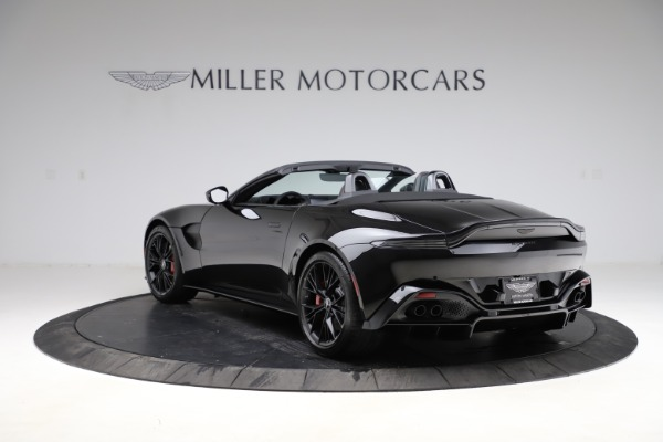 New 2021 Aston Martin Vantage Roadster Convertible for sale $189,186 at Pagani of Greenwich in Greenwich CT 06830 4