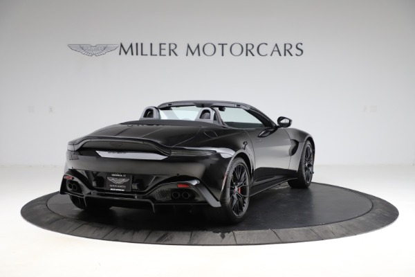 New 2021 Aston Martin Vantage Roadster Convertible for sale $189,186 at Pagani of Greenwich in Greenwich CT 06830 6