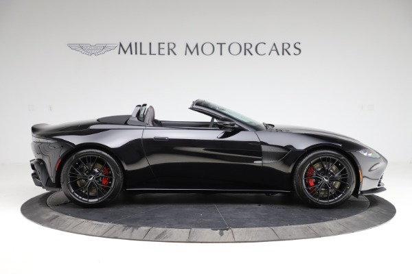 New 2021 Aston Martin Vantage Roadster Convertible for sale $189,186 at Pagani of Greenwich in Greenwich CT 06830 8