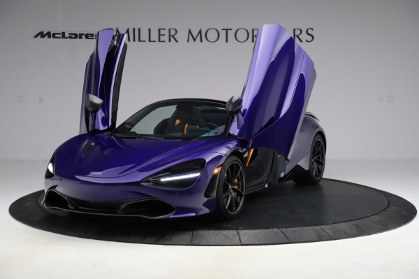 Used 2020 McLaren 720S Spider for sale $324,990 at Pagani of Greenwich in Greenwich CT 06830 19