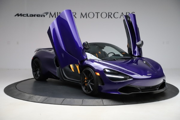 Used 2020 McLaren 720S Spider Performance for sale $324,990 at Pagani of Greenwich in Greenwich CT 06830 21