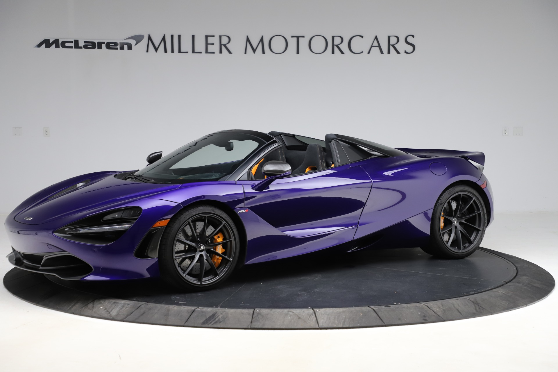 Used 2020 McLaren 720S Spider for sale $324,990 at Pagani of Greenwich in Greenwich CT 06830 1