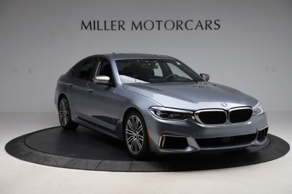 Used 2018 BMW 5 Series M550i xDrive for sale $49,900 at Pagani of Greenwich in Greenwich CT 06830 11