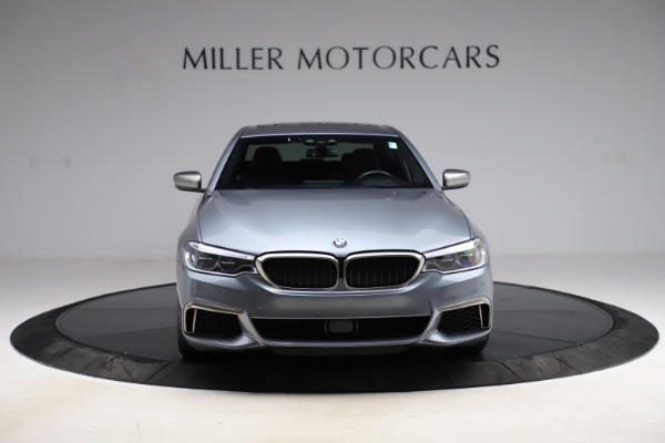 Used 2018 BMW 5 Series M550i xDrive for sale $49,900 at Pagani of Greenwich in Greenwich CT 06830 12