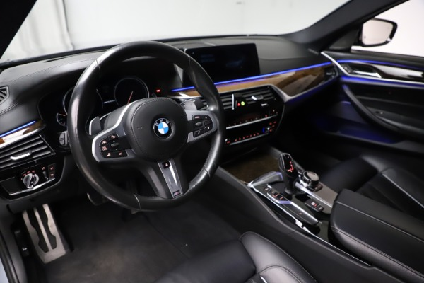 Used 2018 BMW 5 Series M550i xDrive for sale $49,900 at Pagani of Greenwich in Greenwich CT 06830 13