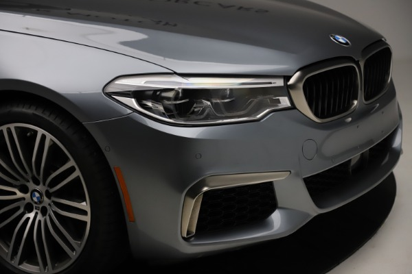 Used 2018 BMW 5 Series M550i xDrive for sale $49,900 at Pagani of Greenwich in Greenwich CT 06830 28
