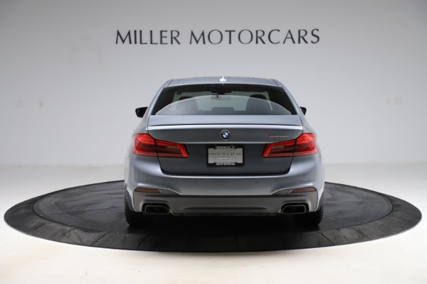 Used 2018 BMW 5 Series M550i xDrive for sale $49,900 at Pagani of Greenwich in Greenwich CT 06830 6