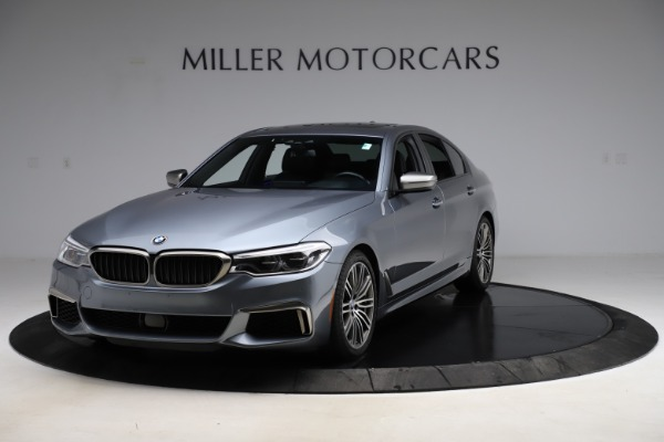 Used 2018 BMW 5 Series M550i xDrive for sale $49,900 at Pagani of Greenwich in Greenwich CT 06830 1