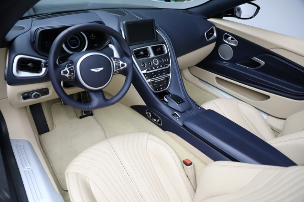New 2021 Aston Martin DB11 Volante Convertible for sale $274,916 at Pagani of Greenwich in Greenwich CT 06830 13