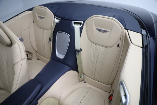 New 2021 Aston Martin DB11 Volante Convertible for sale $274,916 at Pagani of Greenwich in Greenwich CT 06830 17