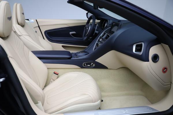 New 2021 Aston Martin DB11 Volante Convertible for sale $274,916 at Pagani of Greenwich in Greenwich CT 06830 20