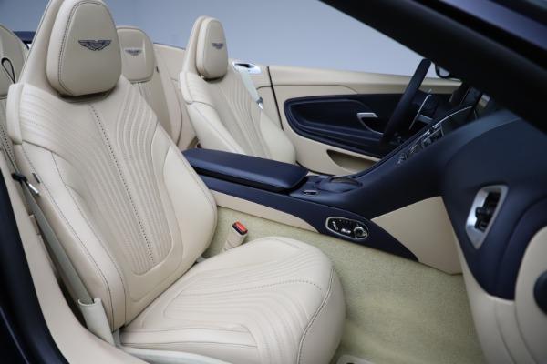 New 2021 Aston Martin DB11 Volante Convertible for sale $274,916 at Pagani of Greenwich in Greenwich CT 06830 21