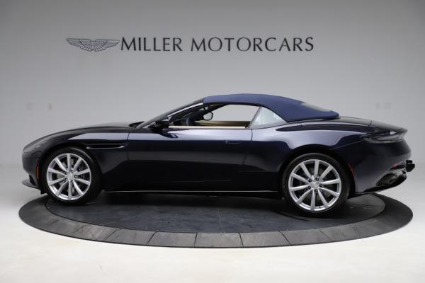 New 2021 Aston Martin DB11 Volante Convertible for sale $274,916 at Pagani of Greenwich in Greenwich CT 06830 23