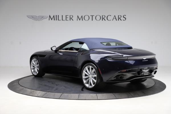 New 2021 Aston Martin DB11 Volante Convertible for sale $274,916 at Pagani of Greenwich in Greenwich CT 06830 24