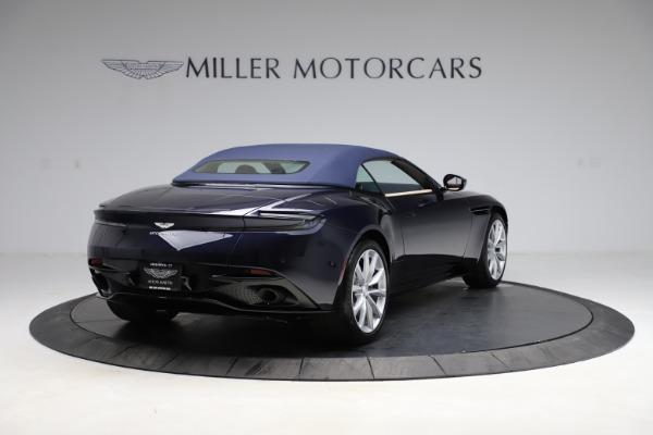 New 2021 Aston Martin DB11 Volante Convertible for sale $274,916 at Pagani of Greenwich in Greenwich CT 06830 25