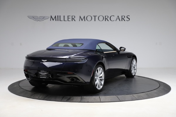 New 2021 Aston Martin DB11 Volante for sale Sold at Pagani of Greenwich in Greenwich CT 06830 25