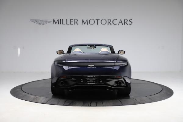 New 2021 Aston Martin DB11 Volante Convertible for sale $274,916 at Pagani of Greenwich in Greenwich CT 06830 5
