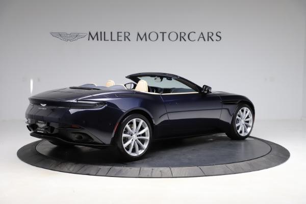 New 2021 Aston Martin DB11 Volante Convertible for sale $274,916 at Pagani of Greenwich in Greenwich CT 06830 7