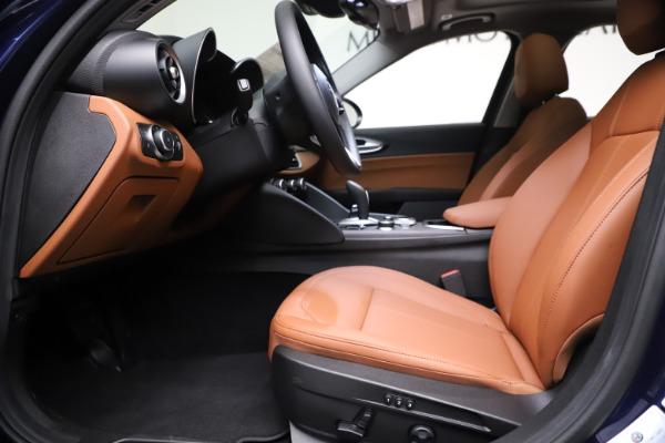 New 2021 Alfa Romeo Giulia Ti Q4 for sale $51,100 at Pagani of Greenwich in Greenwich CT 06830 14