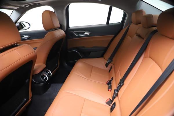 New 2021 Alfa Romeo Giulia Ti Q4 for sale $51,100 at Pagani of Greenwich in Greenwich CT 06830 19