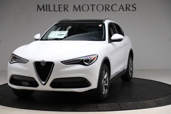 New 2021 Alfa Romeo Stelvio Q4 for sale $47,985 at Pagani of Greenwich in Greenwich CT 06830 1