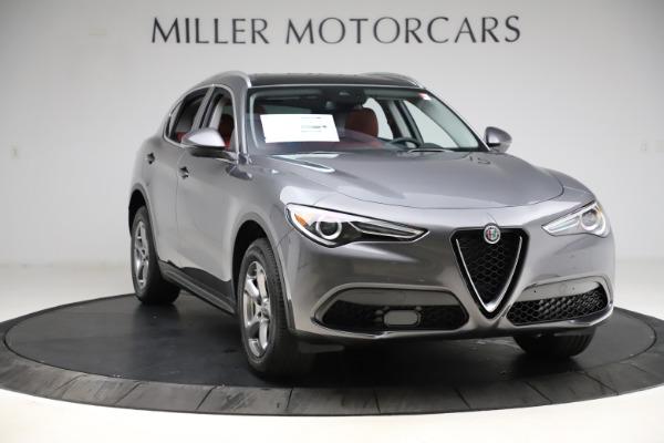 New 2021 Alfa Romeo Stelvio Q4 for sale $48,050 at Pagani of Greenwich in Greenwich CT 06830 11