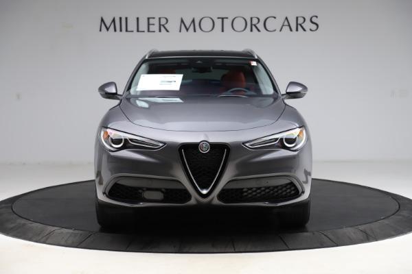 New 2021 Alfa Romeo Stelvio Q4 for sale $48,050 at Pagani of Greenwich in Greenwich CT 06830 12