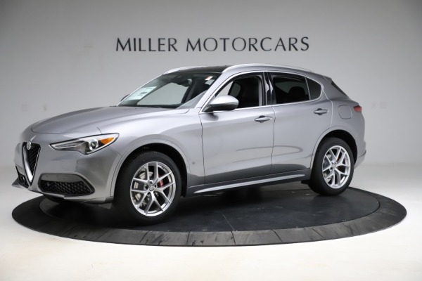 New 2021 Alfa Romeo Stelvio Ti Q4 for sale $55,900 at Pagani of Greenwich in Greenwich CT 06830 2