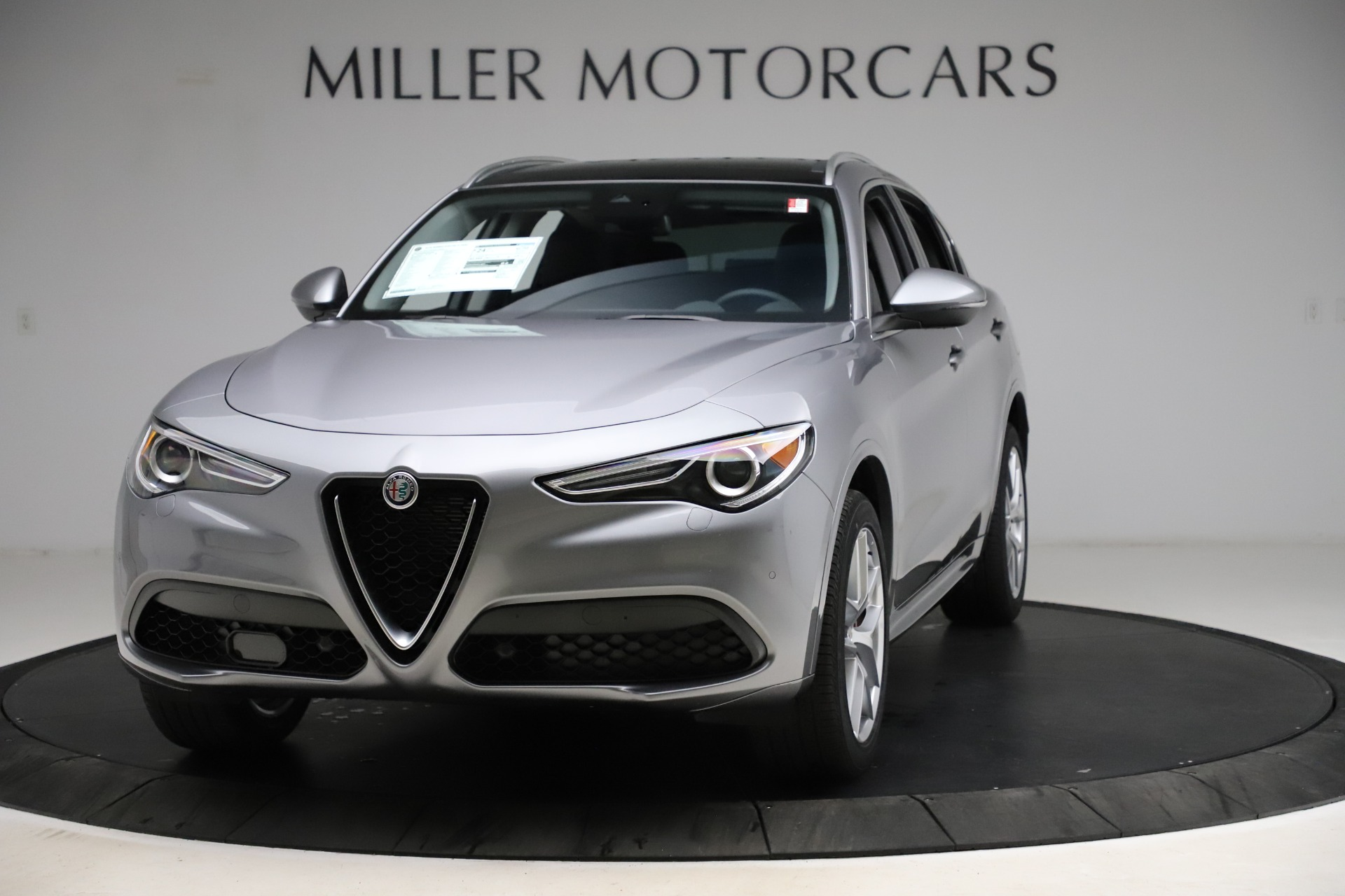 New 2021 Alfa Romeo Stelvio Ti Q4 for sale $55,900 at Pagani of Greenwich in Greenwich CT 06830 1