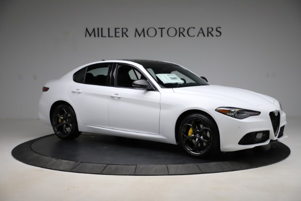 New 2021 Alfa Romeo Giulia Ti Sport for sale $52,940 at Pagani of Greenwich in Greenwich CT 06830 10