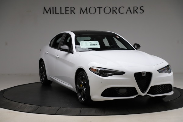 New 2021 Alfa Romeo Giulia Ti Sport for sale $52,940 at Pagani of Greenwich in Greenwich CT 06830 11