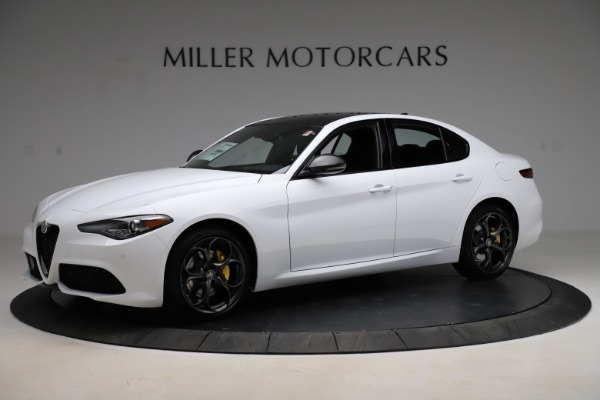 New 2021 Alfa Romeo Giulia Ti Sport for sale $52,940 at Pagani of Greenwich in Greenwich CT 06830 2