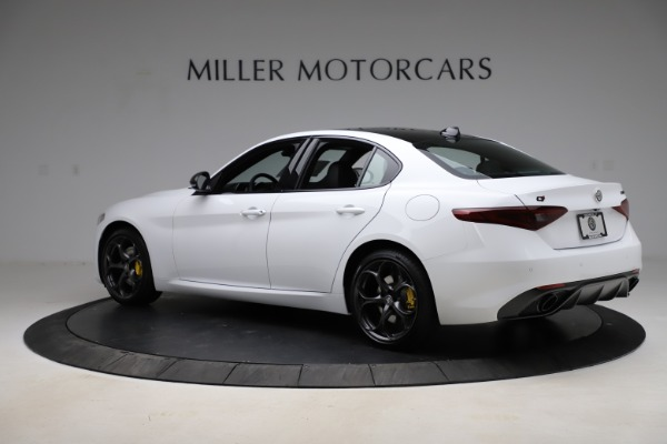 New 2021 Alfa Romeo Giulia Ti Sport for sale $52,940 at Pagani of Greenwich in Greenwich CT 06830 4
