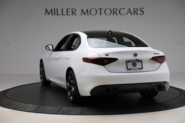 New 2021 Alfa Romeo Giulia Ti Sport for sale $52,940 at Pagani of Greenwich in Greenwich CT 06830 5