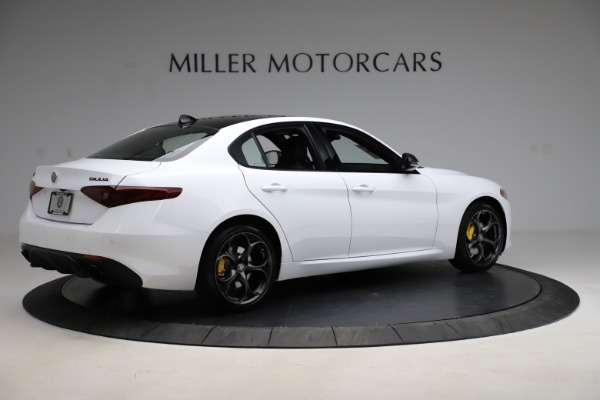 New 2021 Alfa Romeo Giulia Ti Sport for sale $52,940 at Pagani of Greenwich in Greenwich CT 06830 8