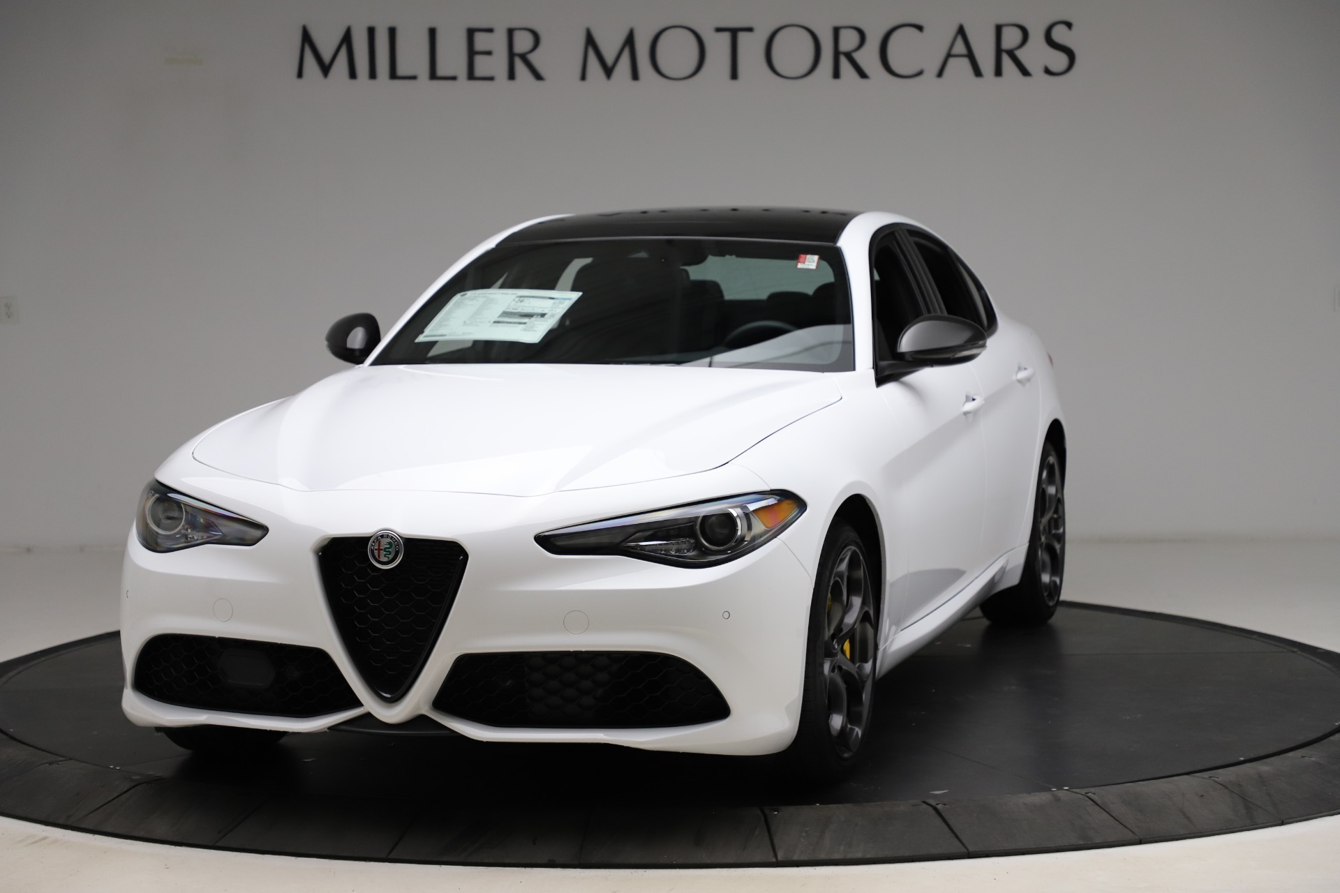 New 2021 Alfa Romeo Giulia Ti Sport for sale $52,940 at Pagani of Greenwich in Greenwich CT 06830 1