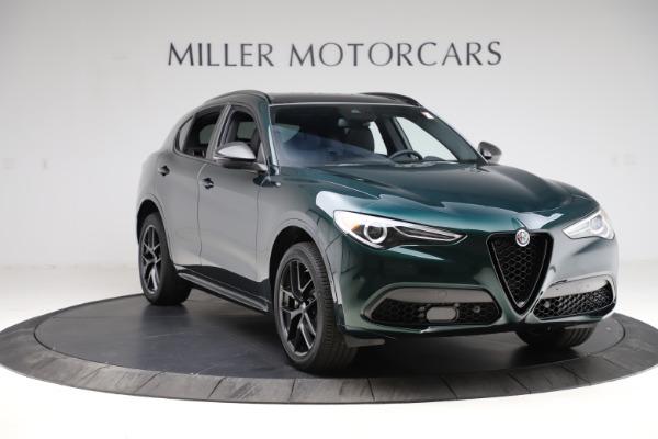 New 2021 Alfa Romeo Stelvio Ti Sport Q4 for sale $56,450 at Pagani of Greenwich in Greenwich CT 06830 11