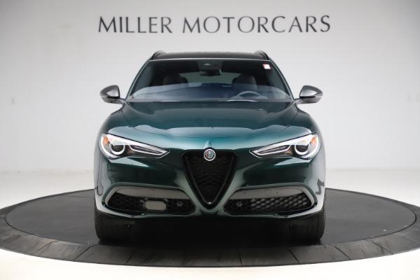 New 2021 Alfa Romeo Stelvio Ti Sport Q4 for sale $56,450 at Pagani of Greenwich in Greenwich CT 06830 12