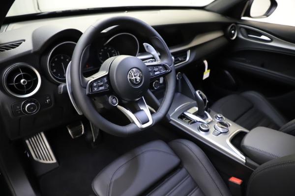 New 2021 Alfa Romeo Stelvio Ti Sport Q4 for sale $56,450 at Pagani of Greenwich in Greenwich CT 06830 13