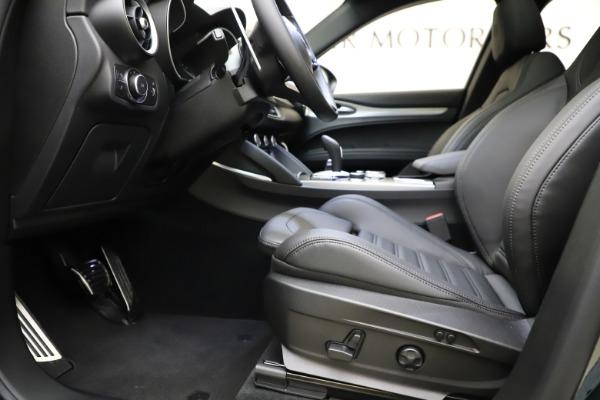 New 2021 Alfa Romeo Stelvio Ti Sport Q4 for sale $56,450 at Pagani of Greenwich in Greenwich CT 06830 14