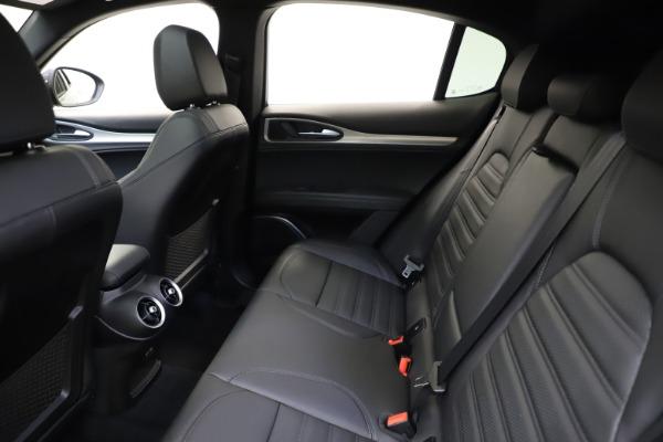 New 2021 Alfa Romeo Stelvio Ti Sport Q4 for sale $56,450 at Pagani of Greenwich in Greenwich CT 06830 19
