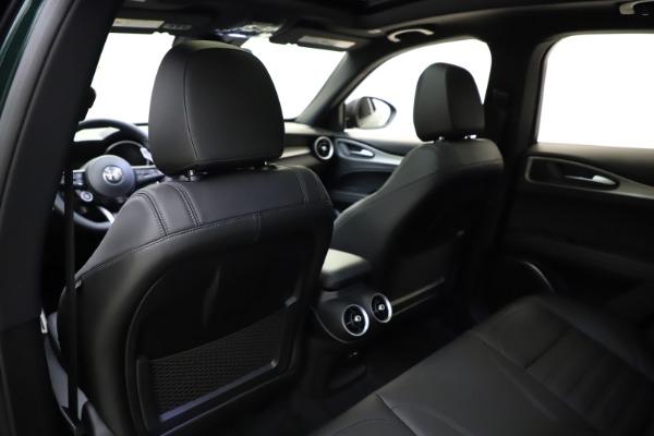 New 2021 Alfa Romeo Stelvio Ti Sport Q4 for sale $56,450 at Pagani of Greenwich in Greenwich CT 06830 20