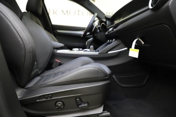 New 2021 Alfa Romeo Stelvio Ti Sport Q4 for sale $56,450 at Pagani of Greenwich in Greenwich CT 06830 23