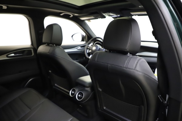 New 2021 Alfa Romeo Stelvio Ti Sport Q4 for sale $56,450 at Pagani of Greenwich in Greenwich CT 06830 28